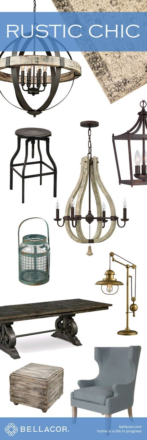House · shop rustic chic lighting furniture and home decor
