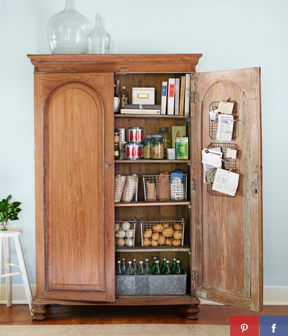 Pin By Christine Hammond On Living Room Pinterest Living Rooms - How to add a pantry to your kitchen