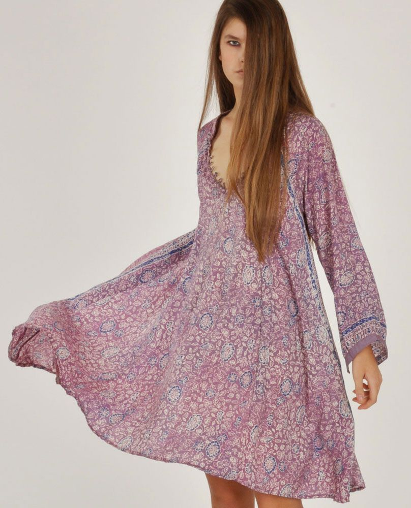 Natalie Martin Lavender Fiore Dress Dresses Hippie Chic Fashion Fashion [ 1000 x 808 Pixel ]