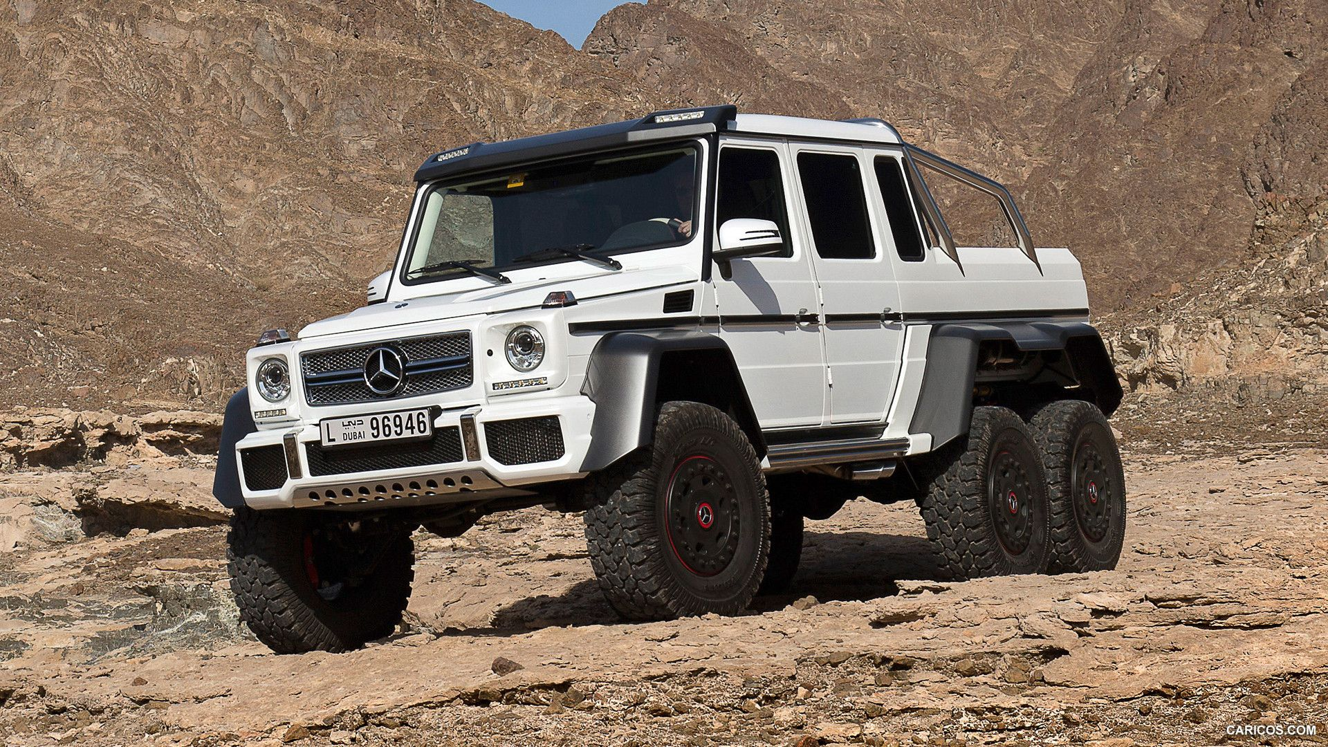 Mercedes Benz G63 Amg 6x6 Drive Review Mobil