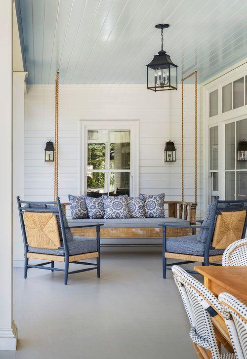 Powder Blue Porch Ceiling