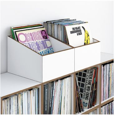 lp box flip through vinyl appreciation pinterest schallplatten regal und aufbewahrung. Black Bedroom Furniture Sets. Home Design Ideas