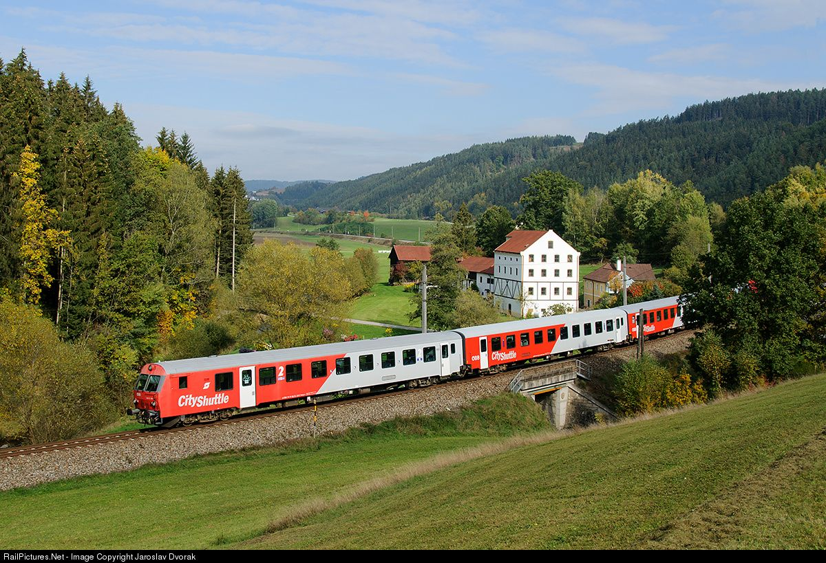 RailPictures.Net Photo: ÖBB 80 73 101 2 Austria Federal Railways (ÖBB) ÖBB 8073 at Kefermarkt, Austria by Jaroslav Dvorak
