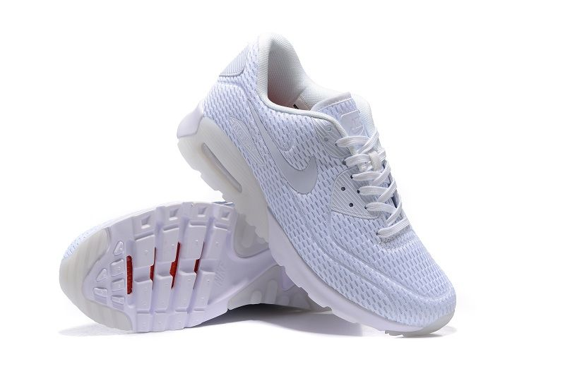 Nike Air Max 90 Ultra BR All White,Discount shoes,cheap