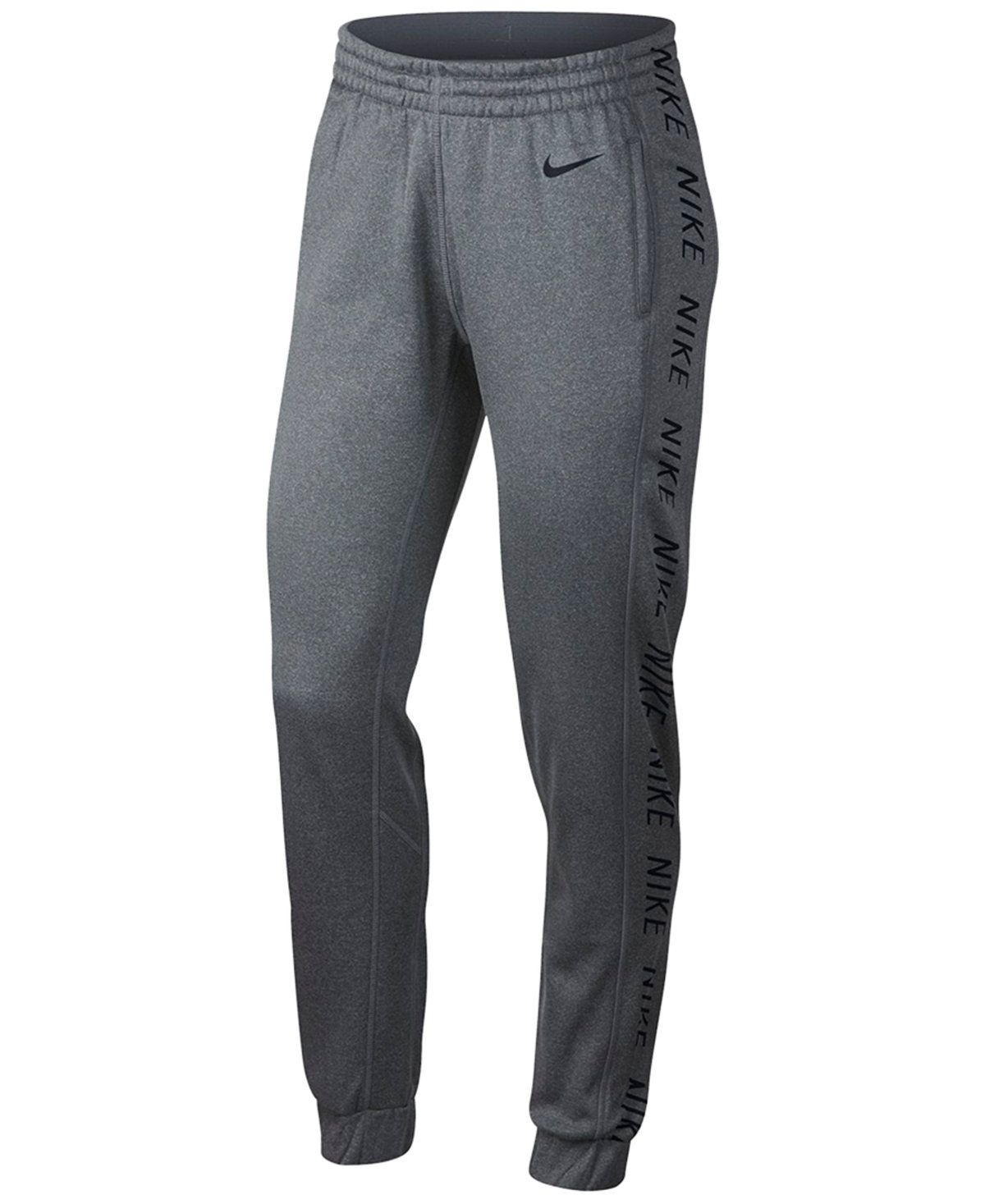 e157e7bd42 Nike Therma Tapered Training Pants - Pants - Women - Macy s ...