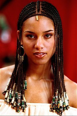 Image result for alicia keys tribal braids