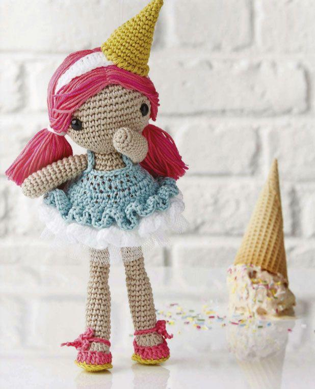 Gelato Crochet Doll | Muñecas