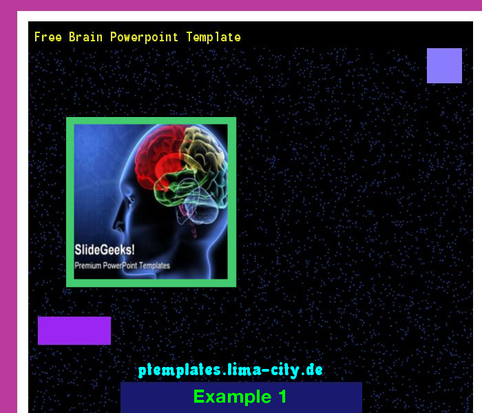 Free Brain Powerpoint Template Powerpoint Templates 1349 The
