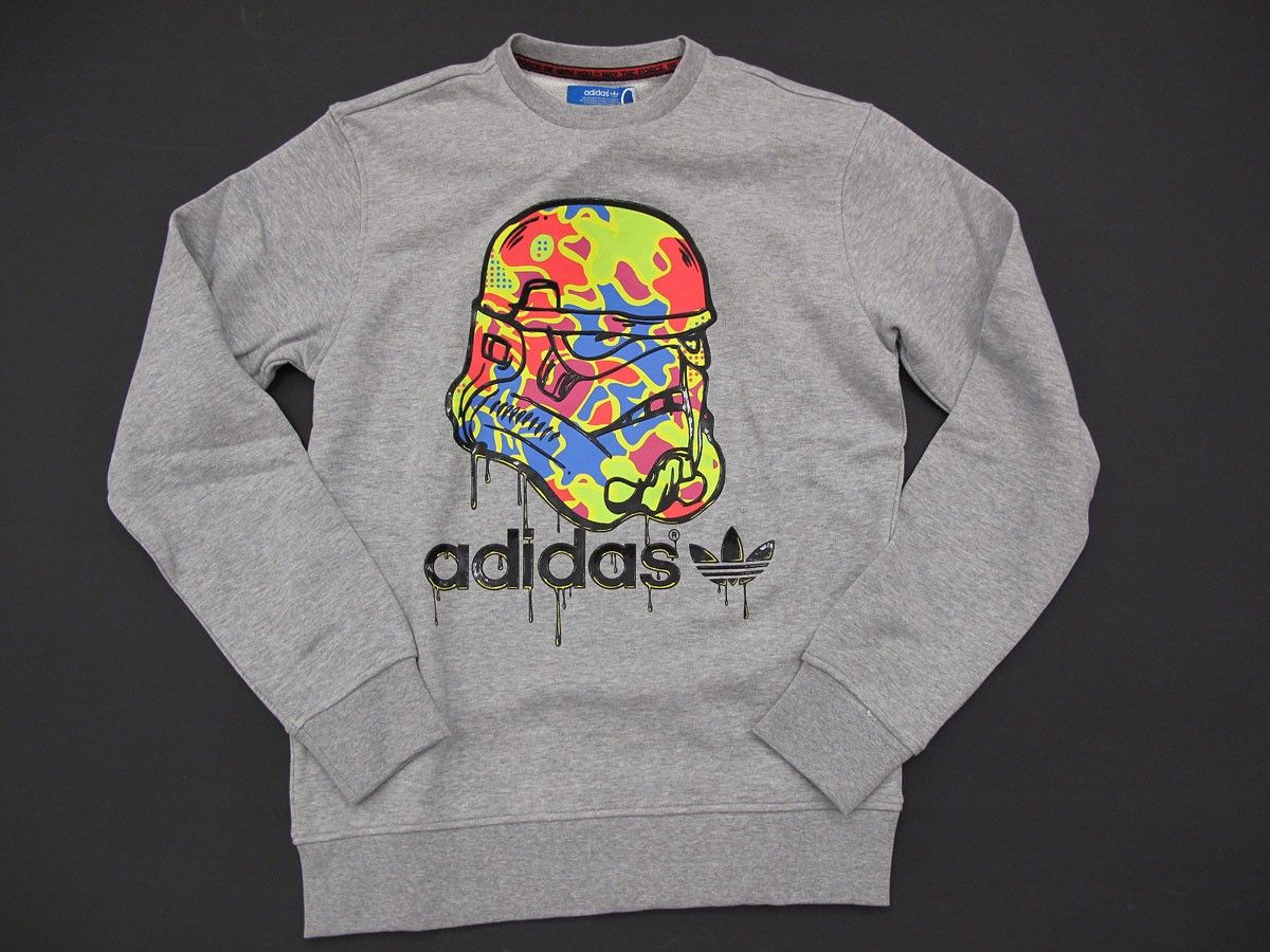 Adidas Stormstrooper Fashion Graphic Sweatshirt Sweatshirts [ 900 x 1200 Pixel ]