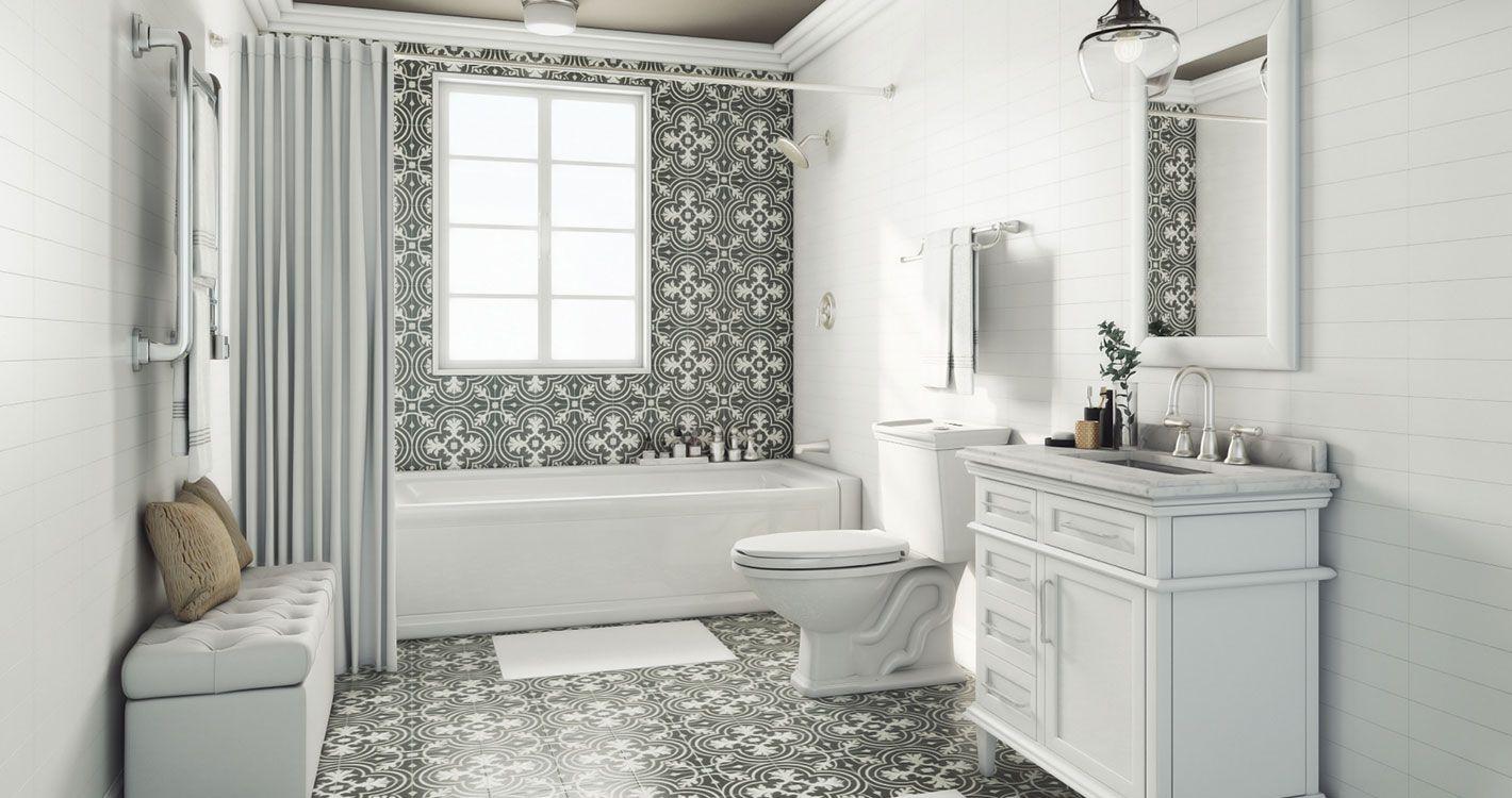 Shop our Decor Department to customize your Parisian Powder Room ...