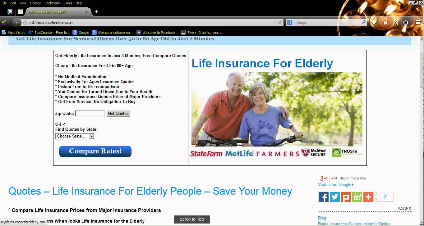 Life Insurance For Elderly Without Medical Checkup Quotes
