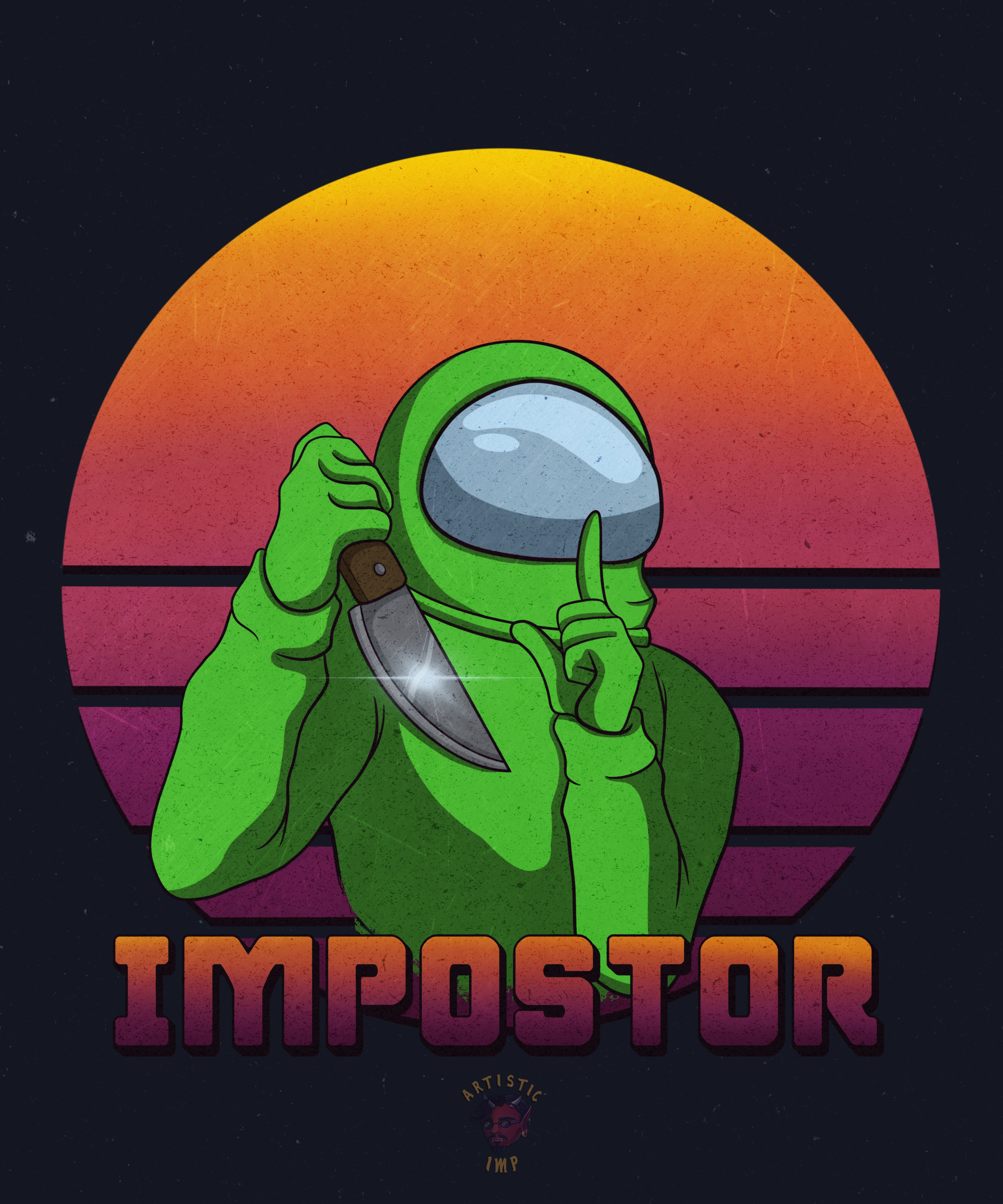 Among Us Impostor Lime Crewmate Lime Green Wallpaper Green Aesthetic Green Wallpaper