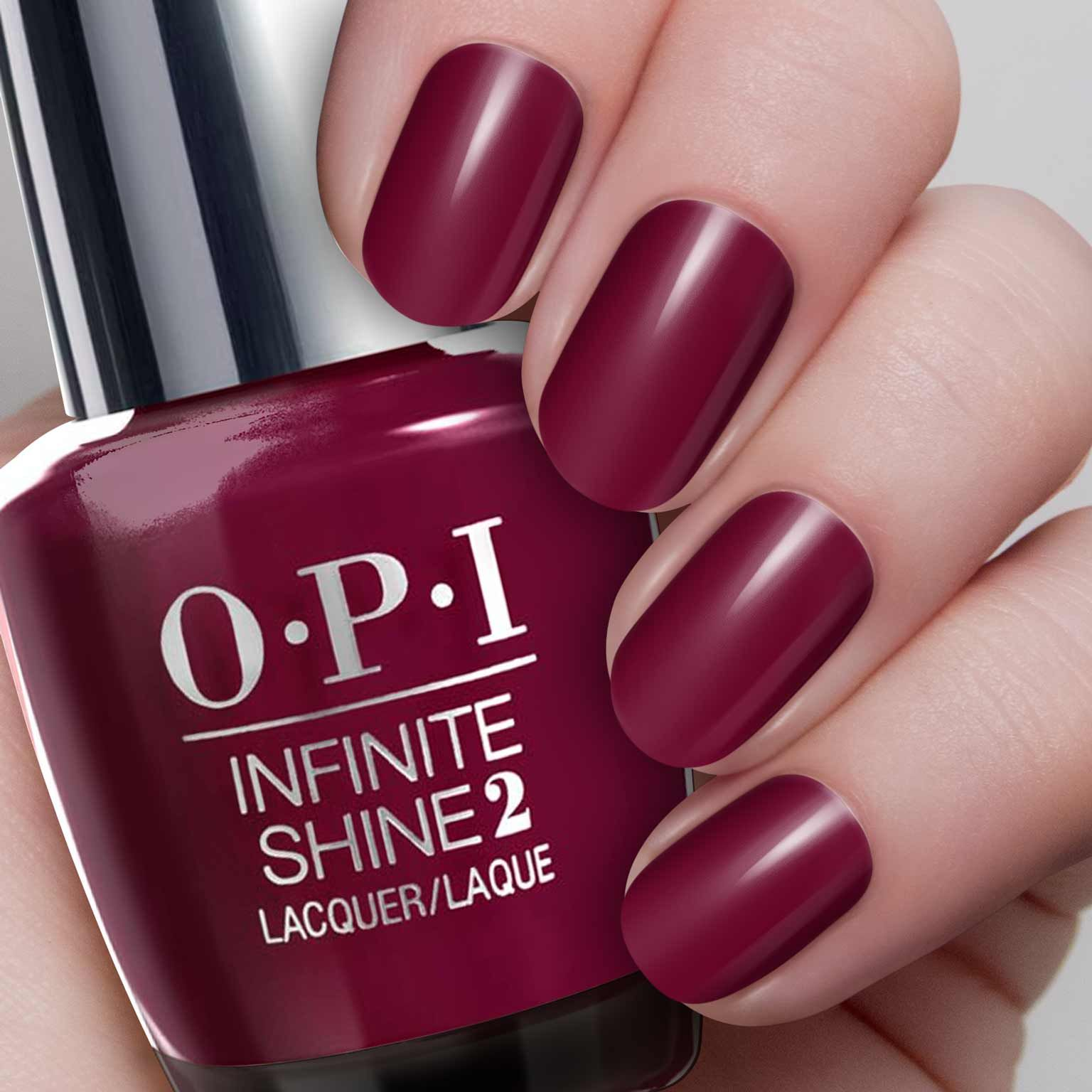 Opi Infinite Shine You Can Count On It Can T Be Beet Vernis A Ongles Ongles Vernis Ongles