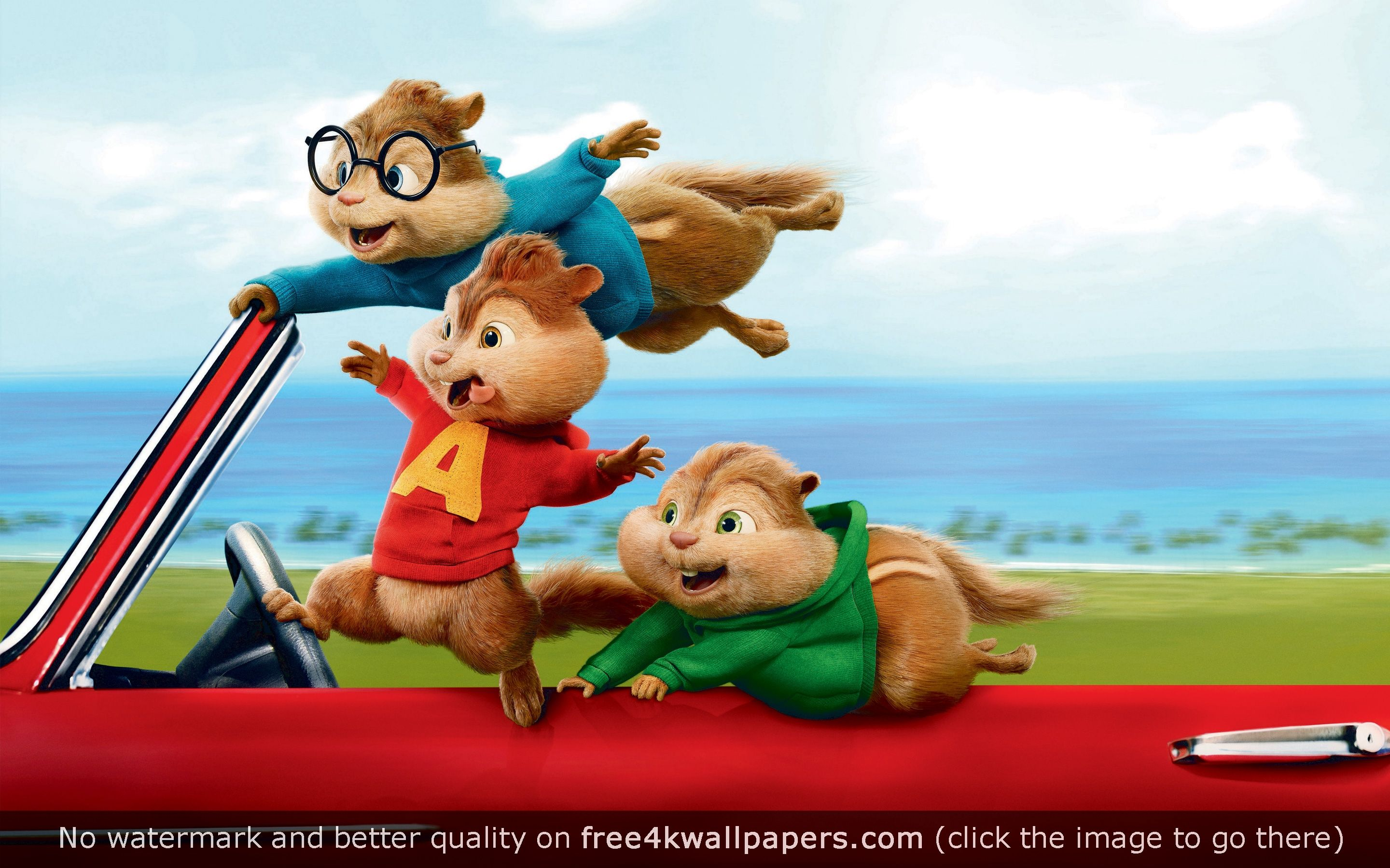 Alvin And The Chipmunks The Road Chip Wallpaper Alvin E Os