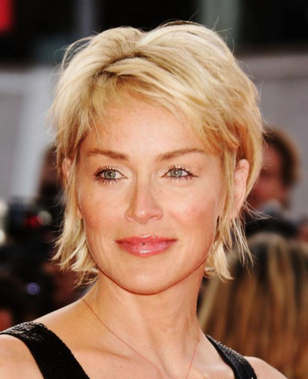 Sharon stone spiky short haircut for older women over 50 getty images - Hairstyles For Women Over 50 With Fine Hair