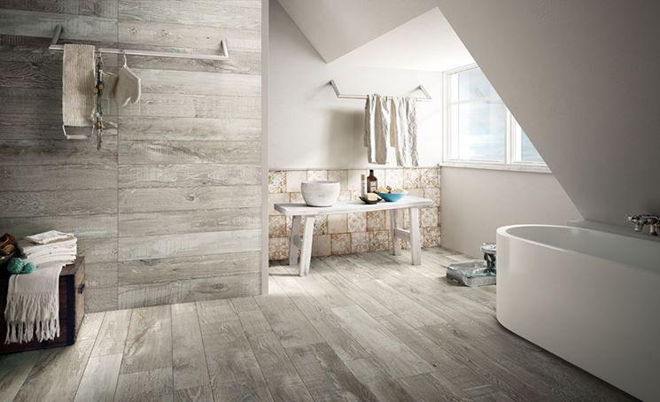 Gres porcellanato effetto legno prezzi | bathroom ...