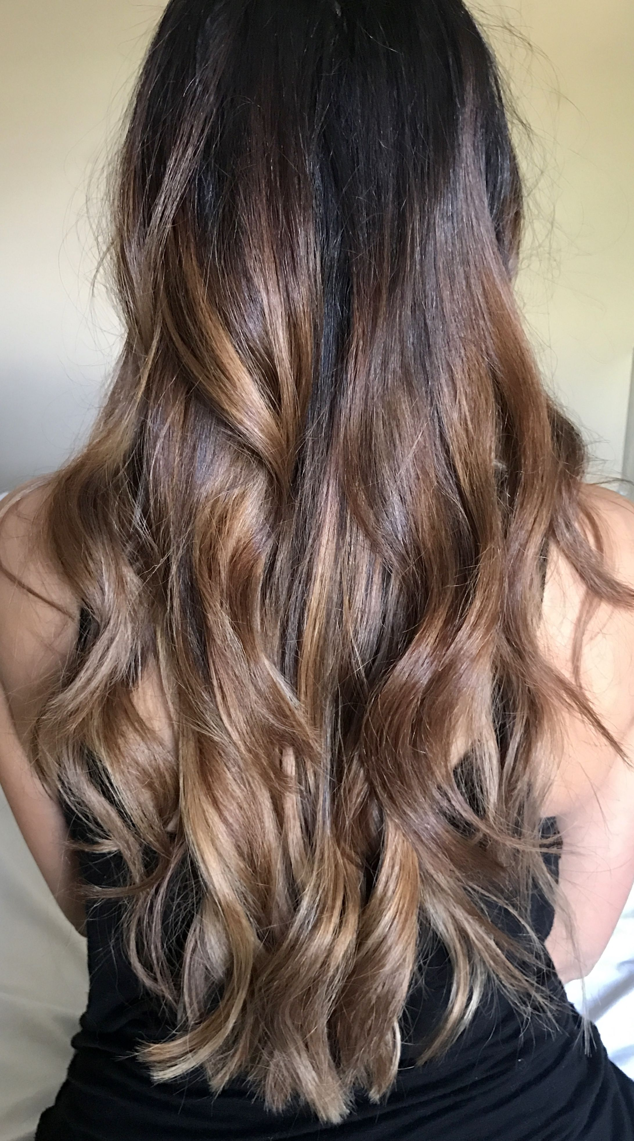 Ash Brown Blonde Ombre Wella Toner T18 Pale Ash Blonde Brown To Blonde Brown To Blonde Ombre Balayage Hair Blonde Long