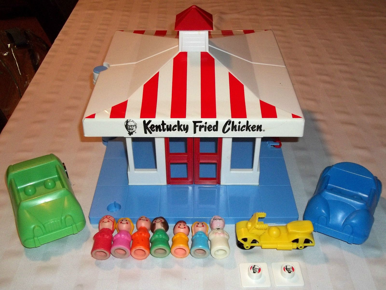 Kfc Toy Food : S kentucky fried chicken playset w colonel sanders