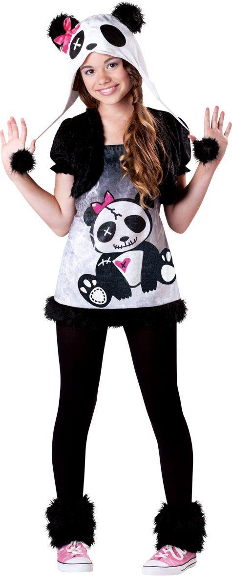 Girls Pandamonium Panda Costume - Party City costume Pinterest - halloween costume ideas for tweens