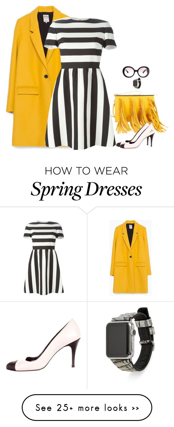 """""""Untitled #3765"""" by miki006 on Polyvore featuring Zara, Valentino, Prada, Chanel and Rebecca Minkoff"""
