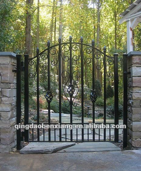 Bx Wrought Iron Gate Grill Design Drawing View Iron Gate Grill Designs Bx Product Details From Qingdao Benxiang Artistic Wrought Iron Co Ltd On Alibaba Com Wrought Iron Gate Designs Iron Gate