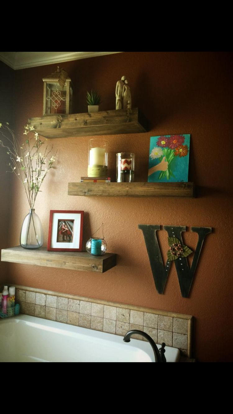 Laundry Room Decor Shelf