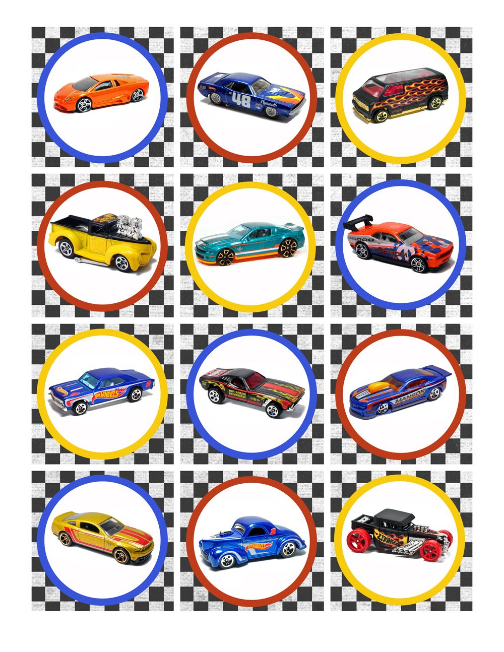 photo relating to Hot Wheels Printable titled Very hot Wheels Birthday Get together Pack Totally free Printables Young children Warm