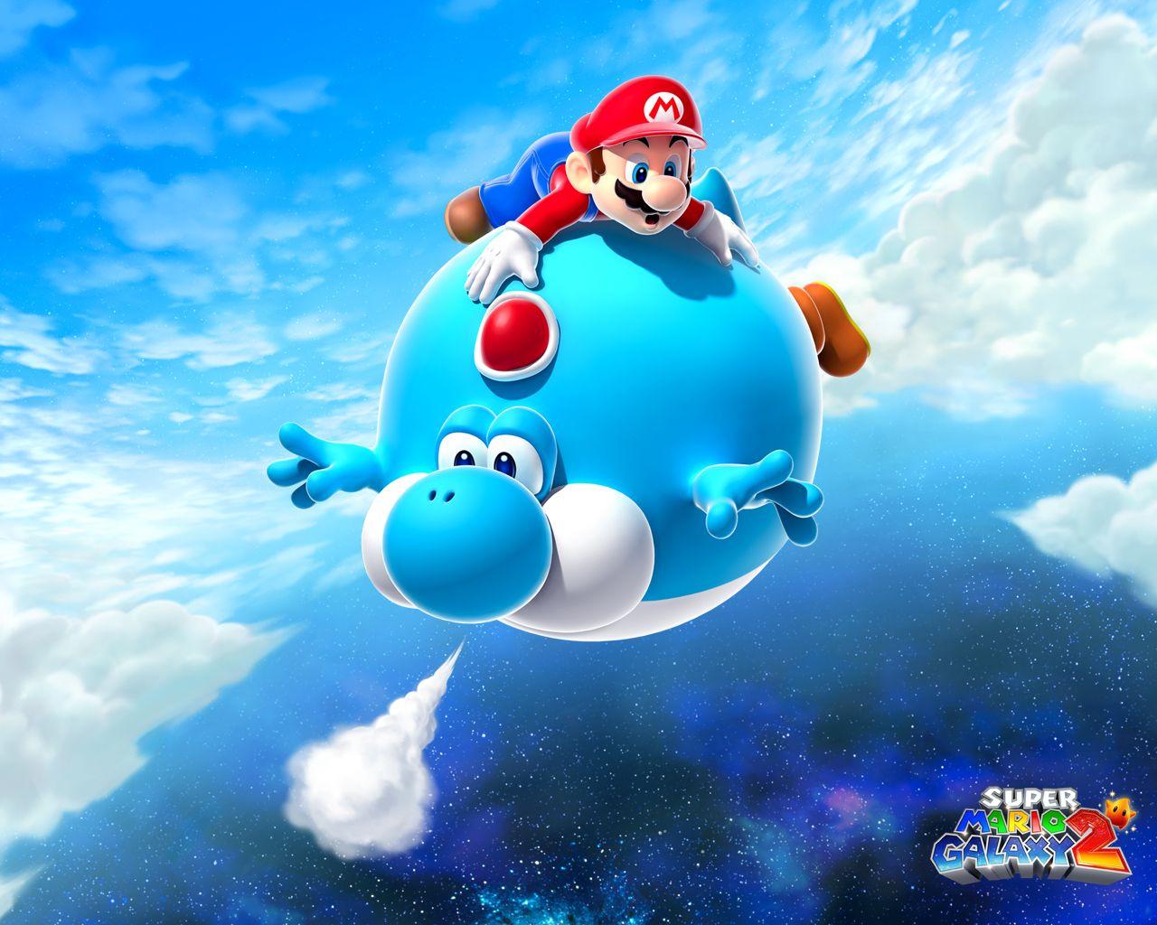 Super Mario Galaxy 2 Yoshi Super Mario Mario Super Mario Games
