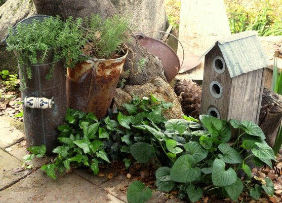 Garden Junk Ideas | Rusty-and-crusty...good-junk.jpg | 4Rustic ...