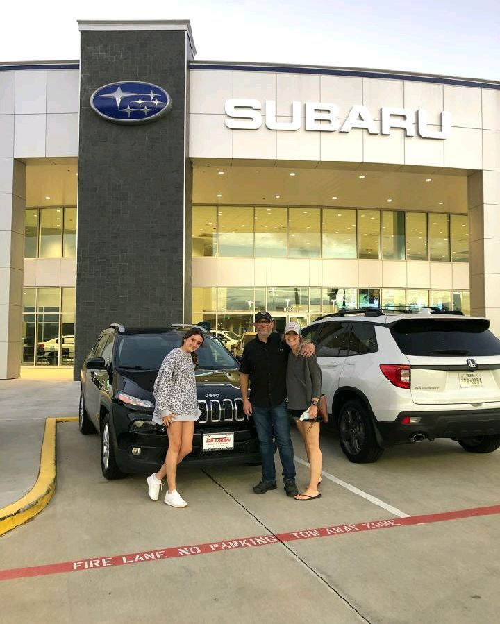 They Re Joining The Jeep Fam Thank You For Choosing Teamgillman For Your Quality Pre Owned Vehicle Purchase Preown Used Subaru Subaru Car Dealership