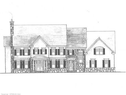 """42 Stockbridge Dr, Avon, CT 06001 — NEW CONSTRUCTION w/VIEWS!!! To-Be-Built @ """"BridgeWater""""! Masterful Design, Detail  Quality thru-out this Classic New England Colonial Offering: 4970sf/10Rms/5Brs/4.2Bths/3Fps/1st Flr Study/Fabulous Cook's Kitchen/Mst Suite! Walkout LL(unfin). Can Custom"""