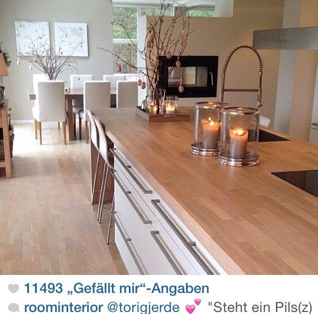 Pin by Jessica Hofmann on Schöner wohnen Pinterest Kitchens - schöner wohnen küche