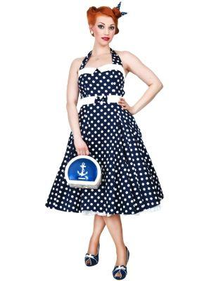 Hell Bunny Skye Rockabilly Swing Retro Vintage  Tea Day Dress XL-4XL