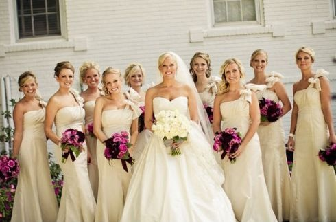 1000  images about Bridesmaids  White/Ivory on Pinterest  Jim ...