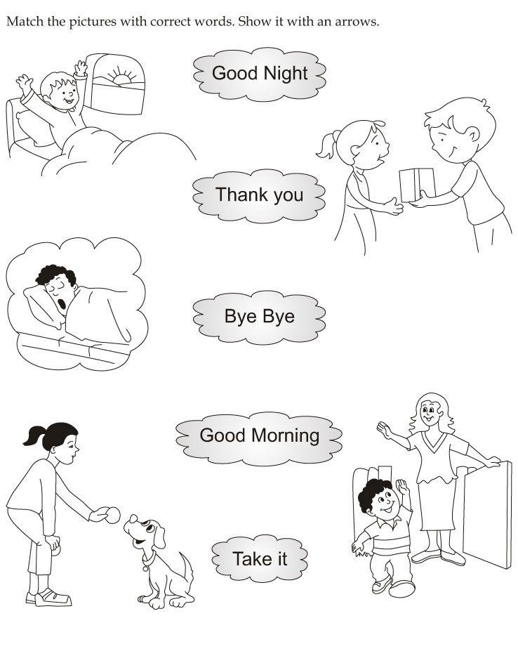 Kindergarten English Worksheets English Worksheets For Kindergarten English Worksheets For Kids Learning English For Kids