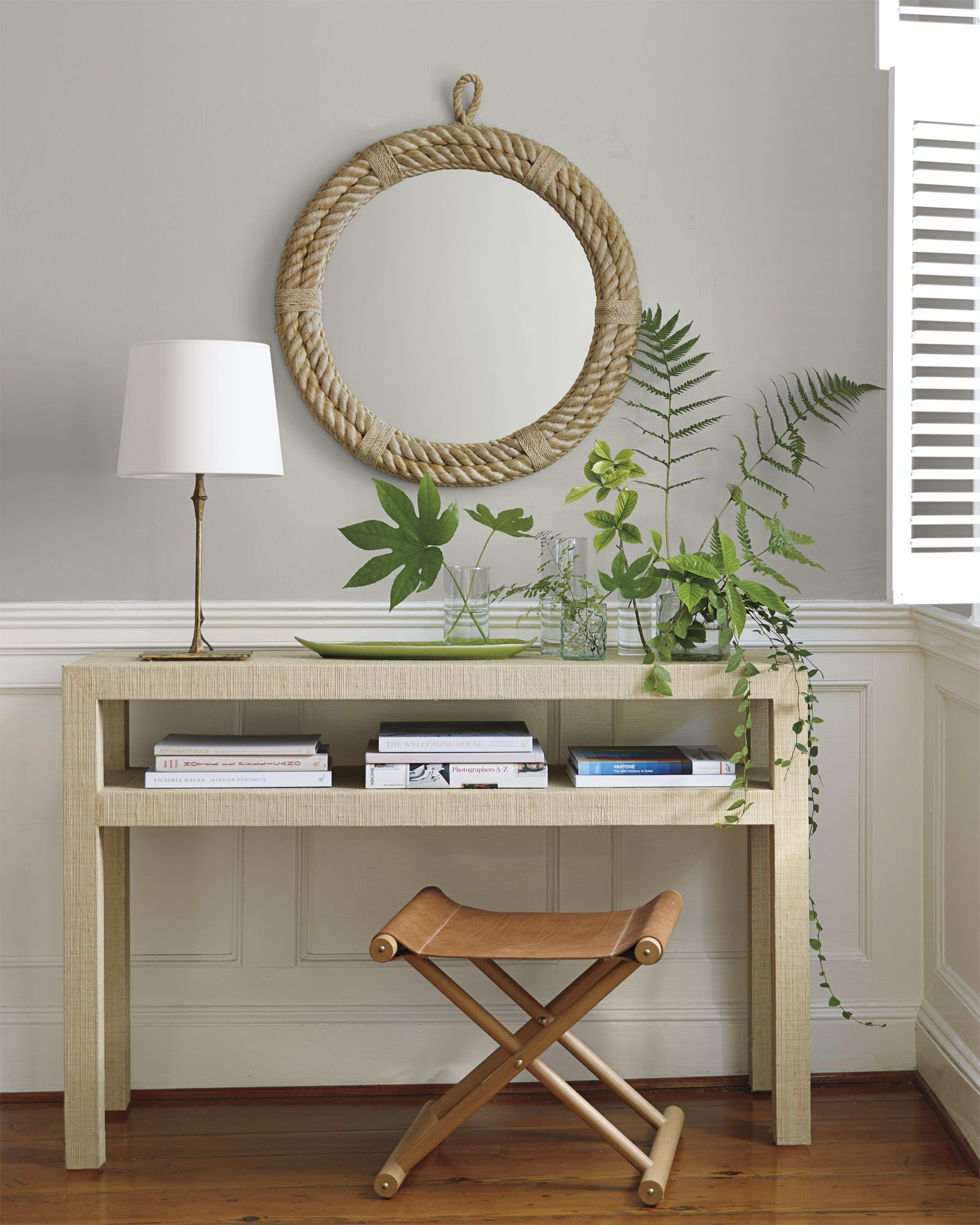 A natural approach to designing your entryway | Blake Raffia ...