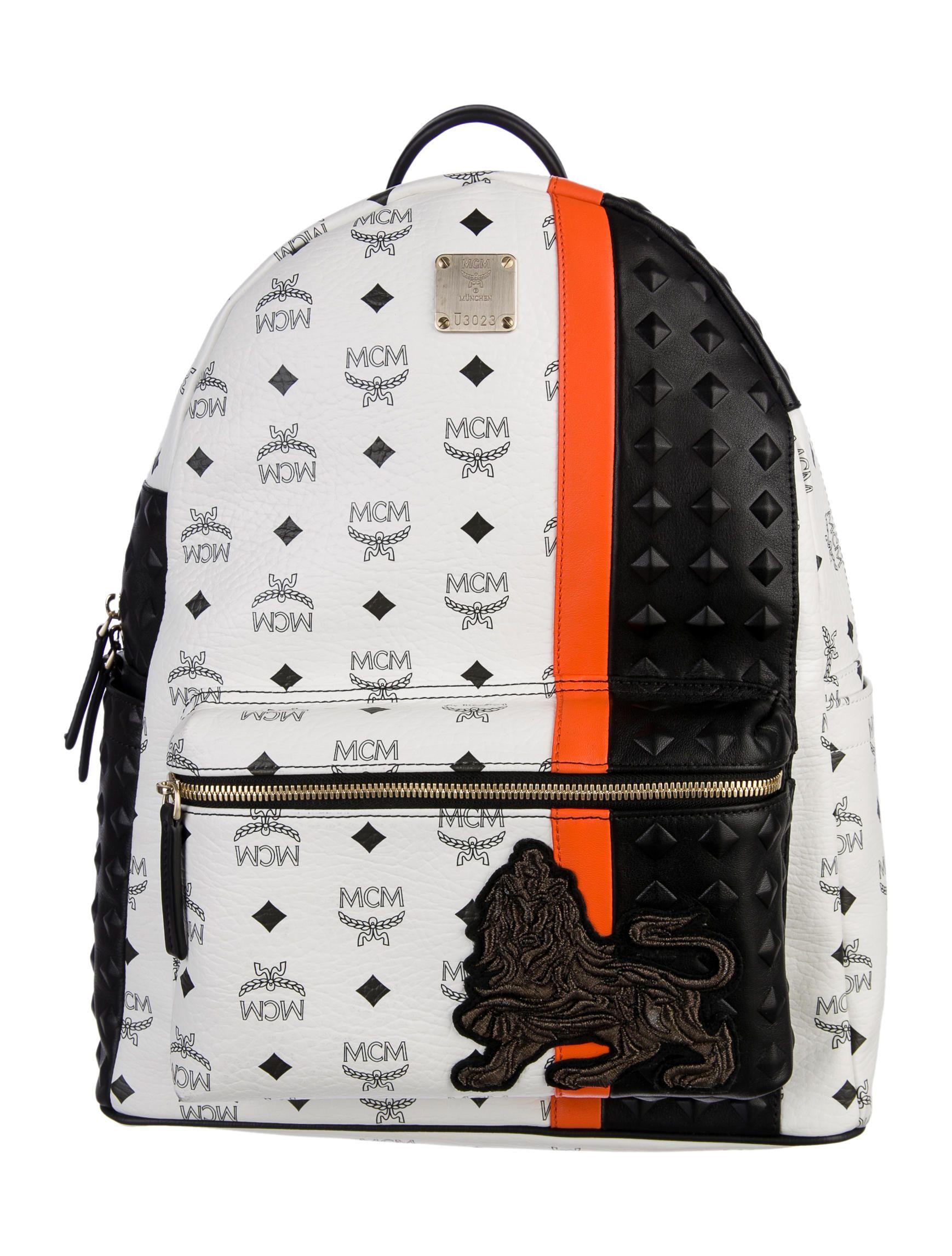 b67523fc76e MCM Munich Lion Backpack w  Tags - Bags - W3020049