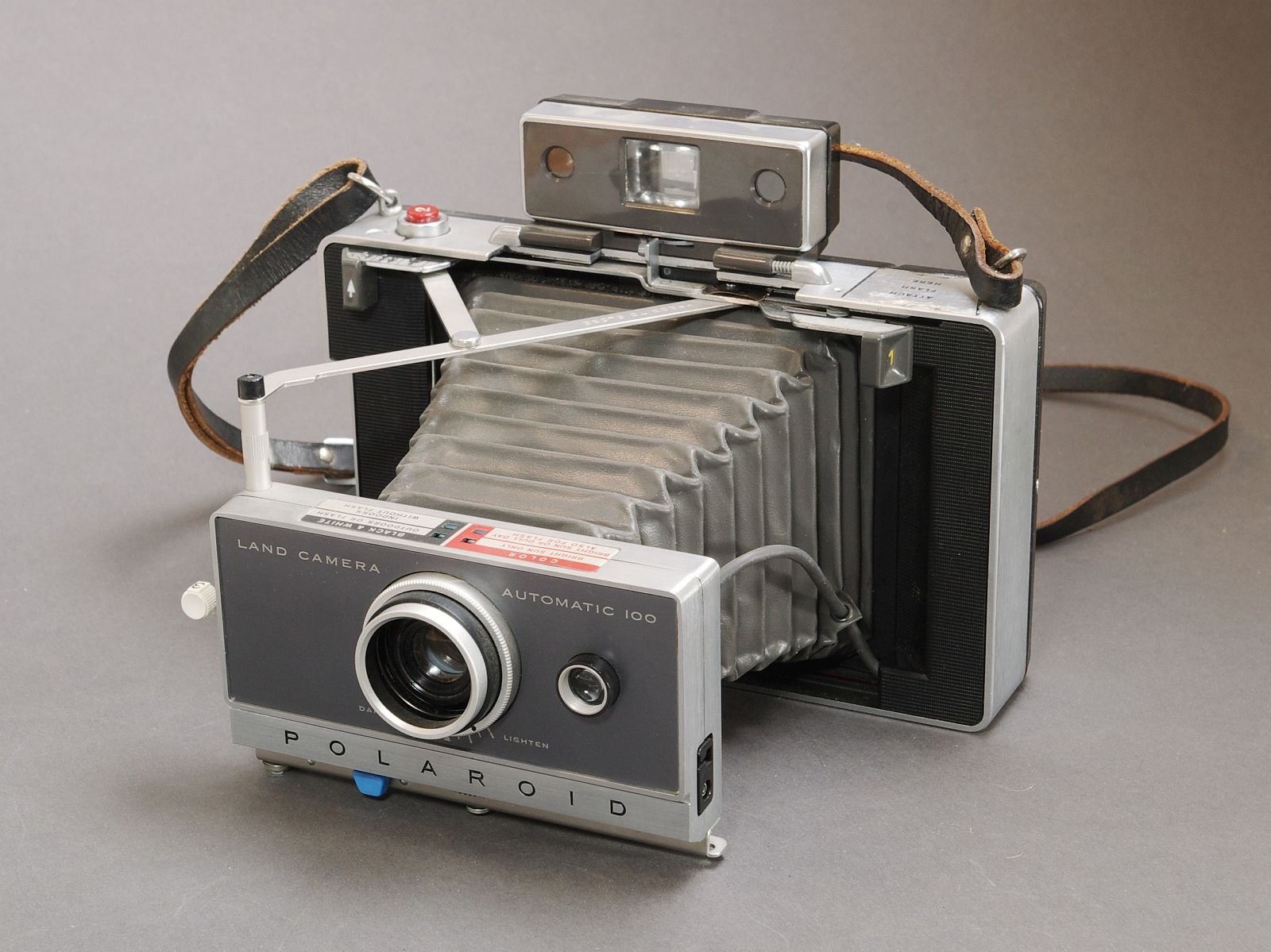 Polaroid Land Camera Automatic 100. 1963 | antique and classic ...