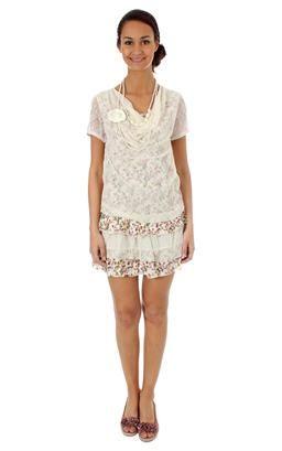 2c9e72925f4 Molly bracken · Robe de marque Femme - Robe mi-longue - Robe-tunique - Robe  en