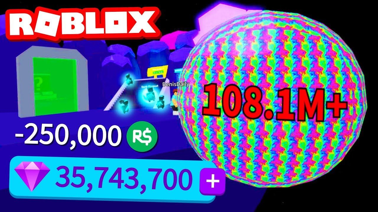 250,000 ROBUX OF GEMS IN BUBBLE GUM SIMULATOR (Roblox) - YouTube