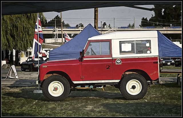 Our Series III rig at the 2011 All British Field Meet in Portland.