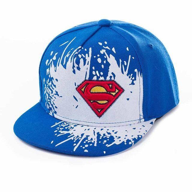9cc09bd7016 2017 New Superman Letter Baseball Cap NY Kid Boys And Girls Bones NY caps  Snapback Hip