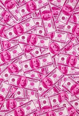 Pink Money Baby Pink Aesthetic Pink Wallpaper Pink Background