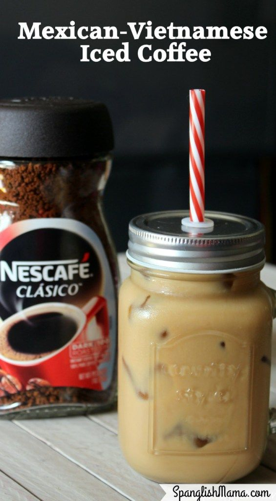 Nescafe Clasico Mexican Vietnamese Iced Coffee