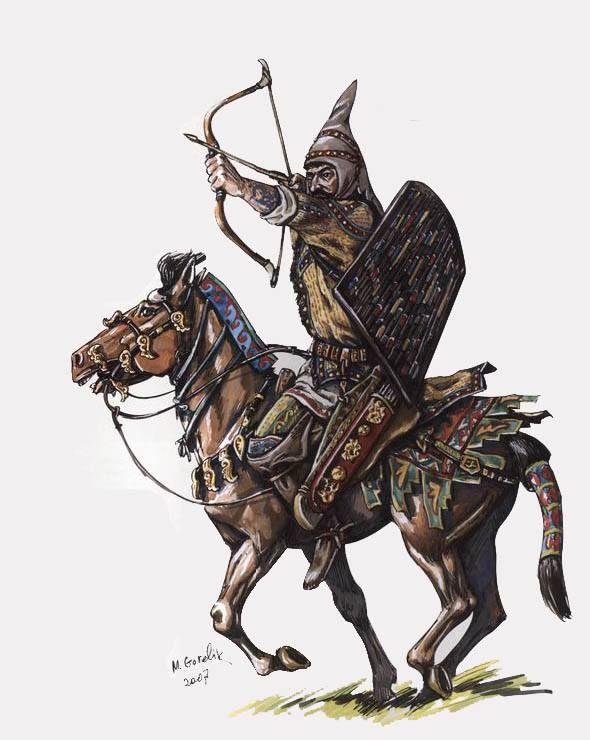 Legkovooruzhennyj Vsadnik Saka Tigrahauda Ancient Cultures History Ancient