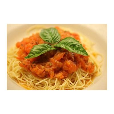 Vermicelli Pomodoro Angel Hair Pasta With Fresh Crushed Tomatoes