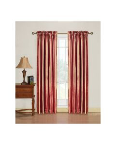 Comfort Bay Majesty Stripe Panel 54 X 84 Curtains Home