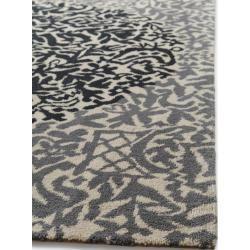 Photo of benuta Naturals Wollteppich Nesta Anthrazit/Grau 140×200 cm – Naturfaserteppich aus Wolle benuta