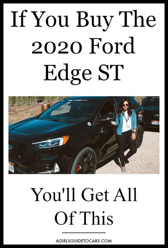 2020 Ford Edge St Line Buy One And You Ll Get All Of This Ford Edge Best Suv For Family Ford