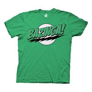 Bazinga Tee Green, $18, now featured on Fab.